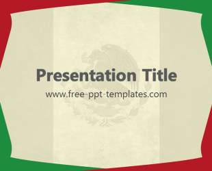 Mexico Ppt Template Free Powerpoint Templates
