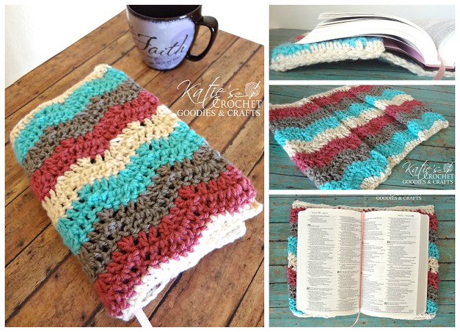 Free Crochet Pattern: Bible Cover or Case - Katies ...