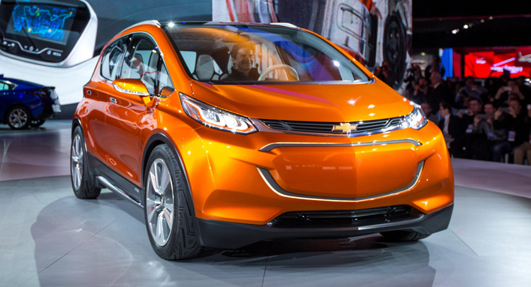 chevrolet confirms production of bolt ev says will cost around 30 000. Black Bedroom Furniture Sets. Home Design Ideas