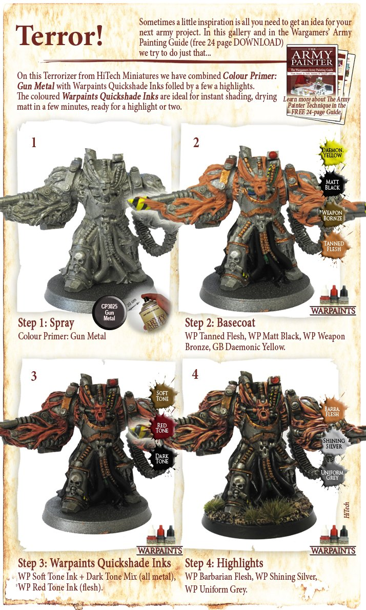 Painting miniatures color master primer - And Apparently Quicker Easier And All Round Better Looking Than Our Recent Painting Attempts There Are Obviously A Few Extra Steps Applied After The