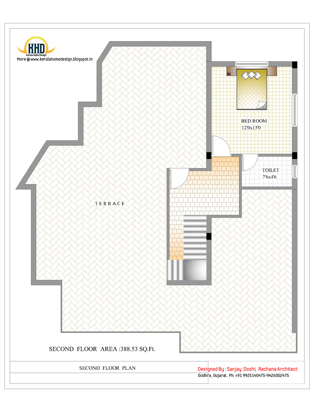 3 Story House Plan And Elevation 3521 Sq Ft Home