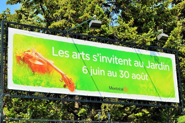 Les arts s 39 invitent au jardin botanique notre montr alit for Au jardin de fanny montreal