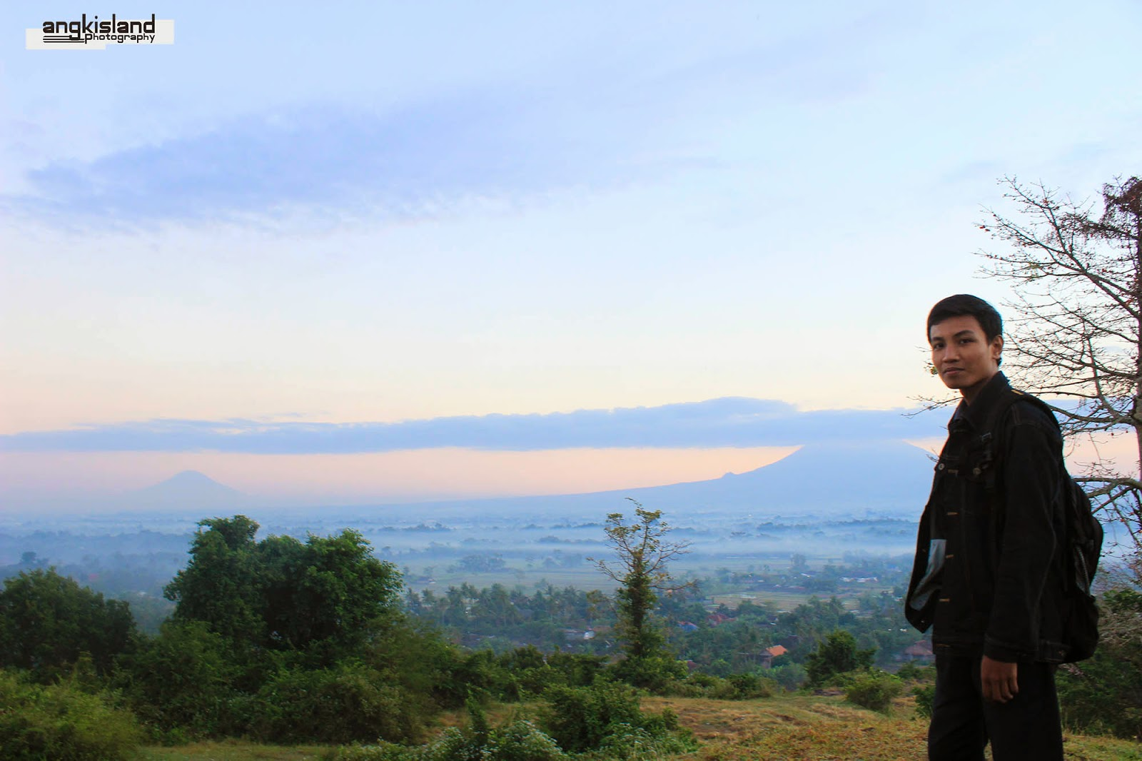 sunrise Merapi
