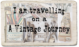 Vintage Journey Challenge - paper stash