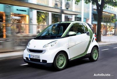Smart Fortwo , Electric Car , electric drive, smart car,  Sarkozy