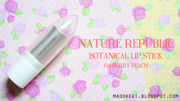 Nature Republic Botanical Lipstick 04 Berry Peach
