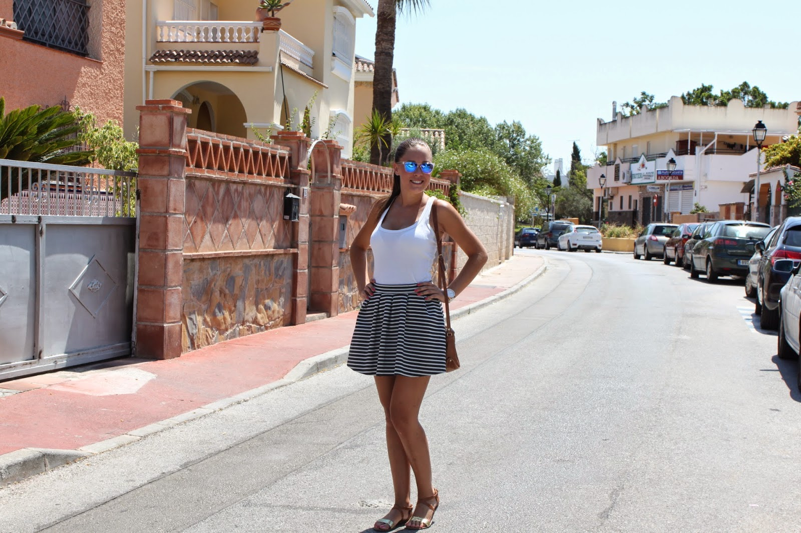 Simply style falda chic - Bershka en londres ...