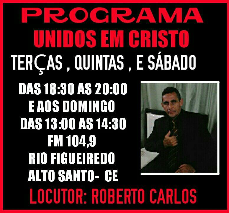 Rádio: Programa Unidos em Cristo