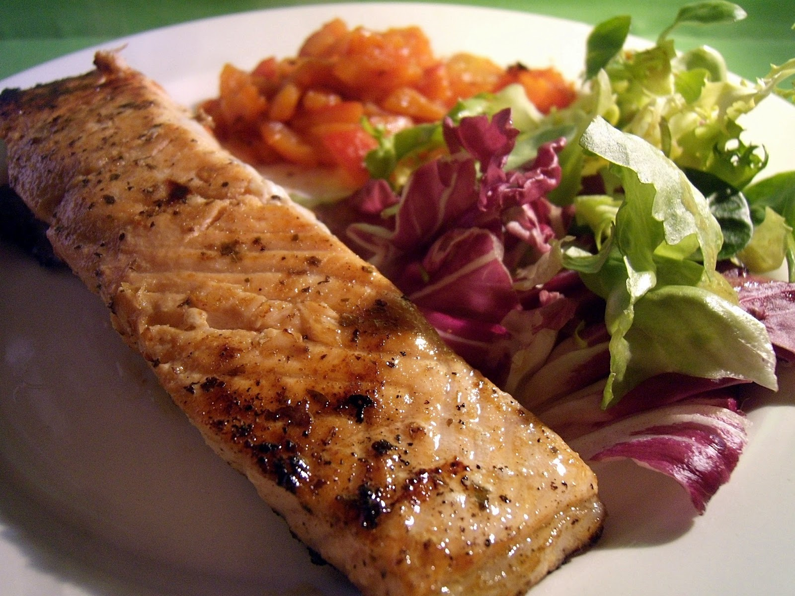 Dey cuisine saumon grill la mexicaine plancha for Cuisine 0 la plancha