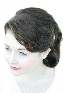Wedding Hair in Aberdeen, hairdresser, Bridal hair, Hairdressers, Short Wedding Hair