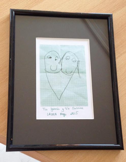Cuadro dibujo de Laura