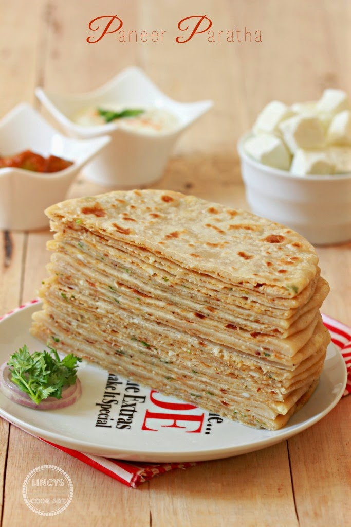 Cottage Cheese Paratha