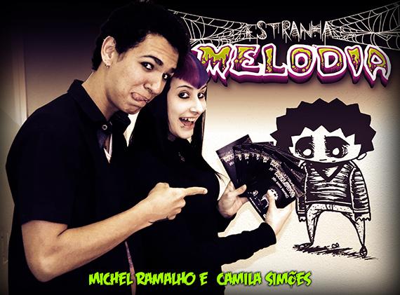 Estranha Melodia - Feedback - Estranha Noite e Melodias Noturnas - Michel Ramalho e Camila Simões