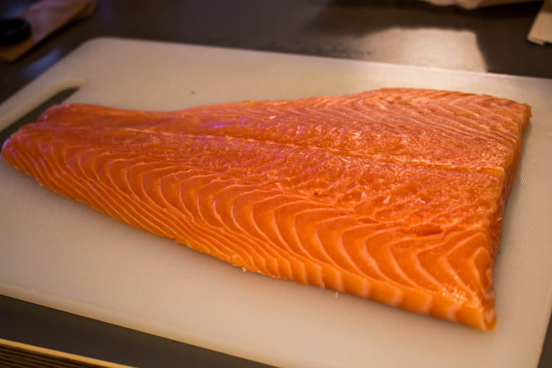 Fresh side of salmon | Svelte Salivations