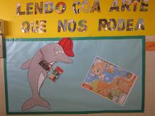 """PROXECTO 2014-2015 """" LENDO COA ARTE QUE NOS RODEA"""""""