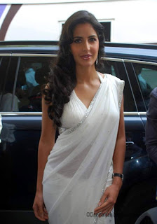 Katrina kaif hot in transparent saree
