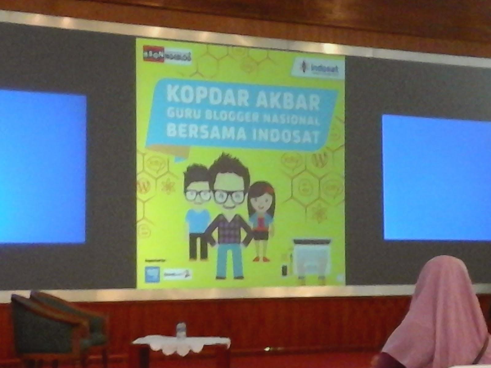 Kopdar Akbar Guru Blogger Indosat