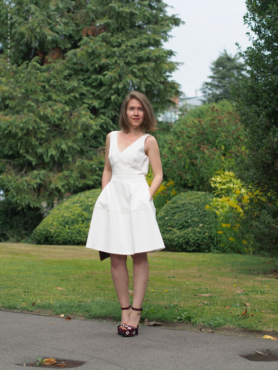 Reiss Natalia Little White Dress | via Fashioned by Love
