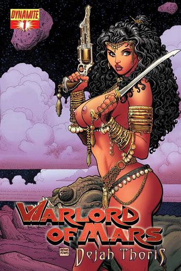 Risque nude variant cover art by Arthur Adams.
