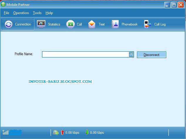 cara setting internet modem dengan menggunakan kartu IM3