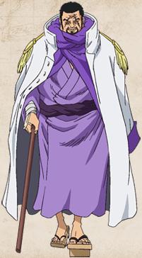 Gambar Admiral Fujitora (One Piece)