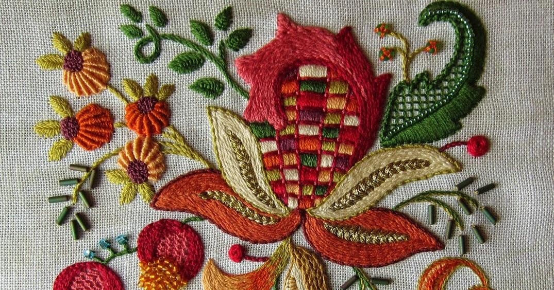 Искусство якобинской вышивки читать 927