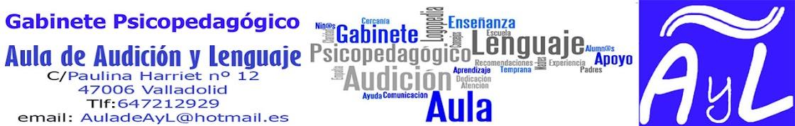 Gabinete Psicopedagógico Aula de Audición y Lenguaje