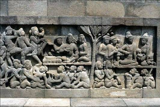 Misteri Relief Misterius di Kaki Candi Borobudur Dianggap Vulgar Dan Tidak Senonoh