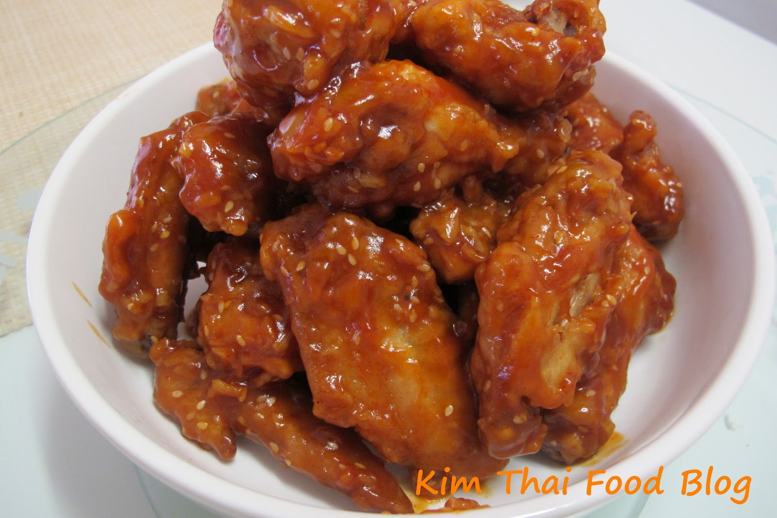 Kim Thai Food Blog: Sweet & Sour Fried Chicken Wing ...