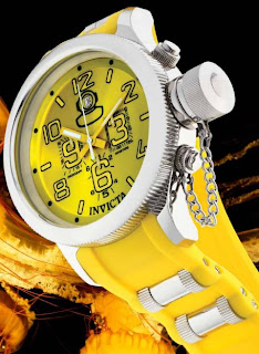 The Invicta Russian Diver Quinotaur Ocean Jelly Palette Series