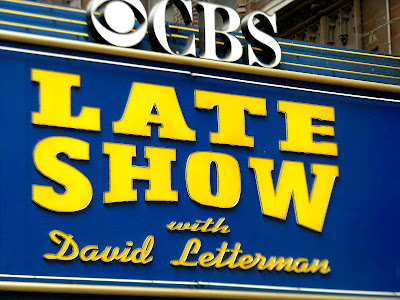 Late Night David Letterman Ed Sullivan Theater Clip Art