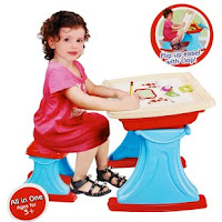 MULTIFUNCTION CHILDREN LEARNING DESK !!!