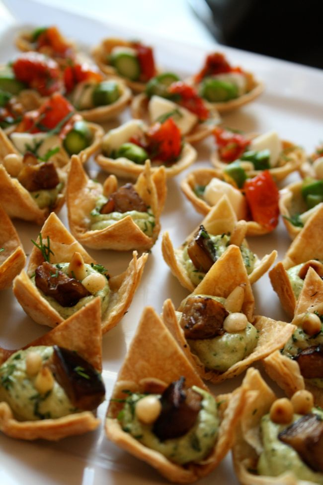 Living life on the verge stories for Chicken canape ideas