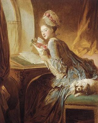 La lettre d'amour - Fragonard