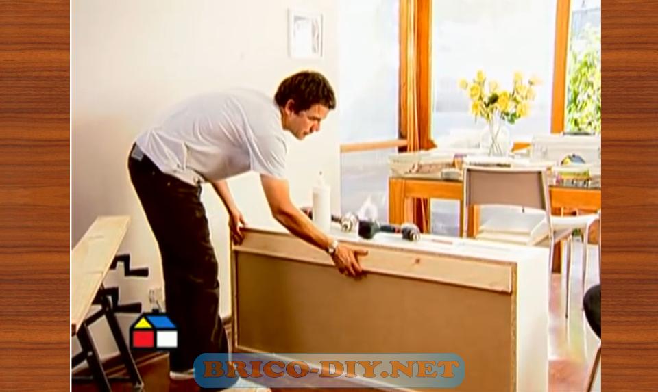 Como fijar muebles de melamina para cocina alacena alta for Como montar muebles de cocina