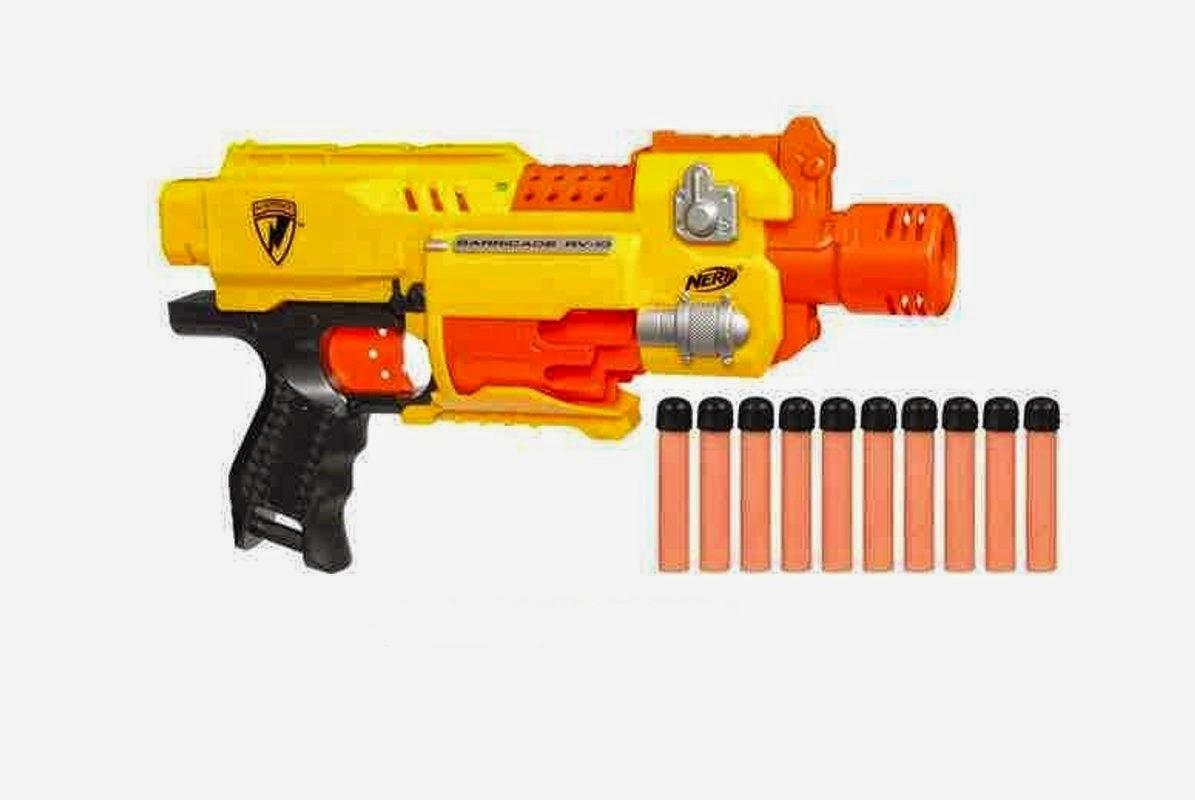 pistolet nerf