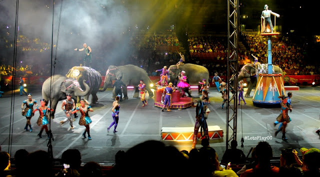 Ringling Bros. and Barnum & Bailey® Presents Circus XTREME Honda Center Anaheim, CA