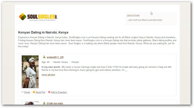 online dating sites for kenya
