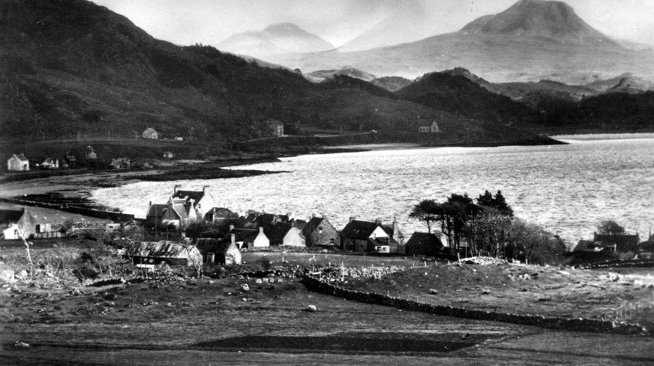 Tour Scotland Photographs: Old Photographs Gairloch Scotland