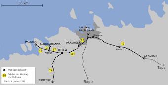 Lokal-Züge Tallinn (elektrisch)