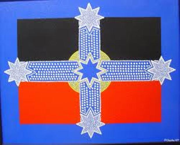Australian flag koori eureka