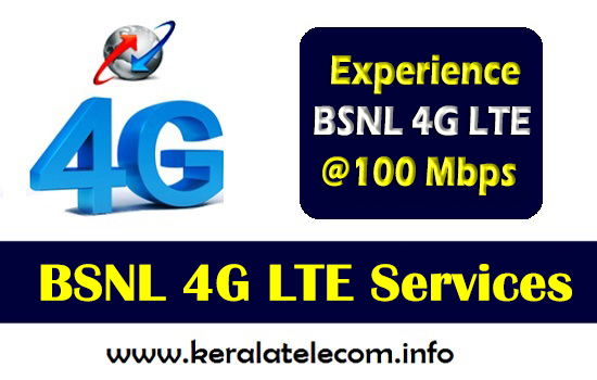 BSNL to launch 4G LTE Services in Kerala Soon, plans to install 68 more WiFi Hotspots