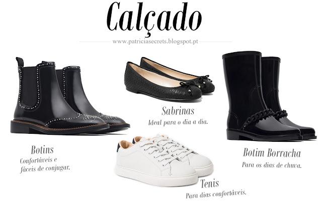 Essenciais de outono-inverno, calçado