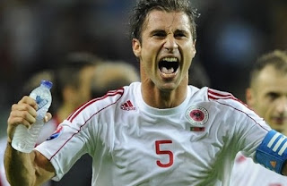 UEFA celebrates Albania's national team qualification and top squad players