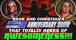 WWE Edge And Christians 15th Anniversary SmackDown Special