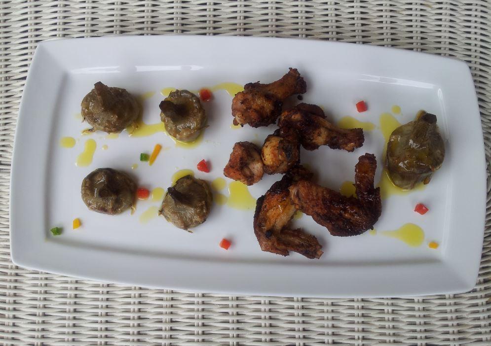 La cocina plural alcachofas confitadas a baja temperatura for Cocina baja temperatura