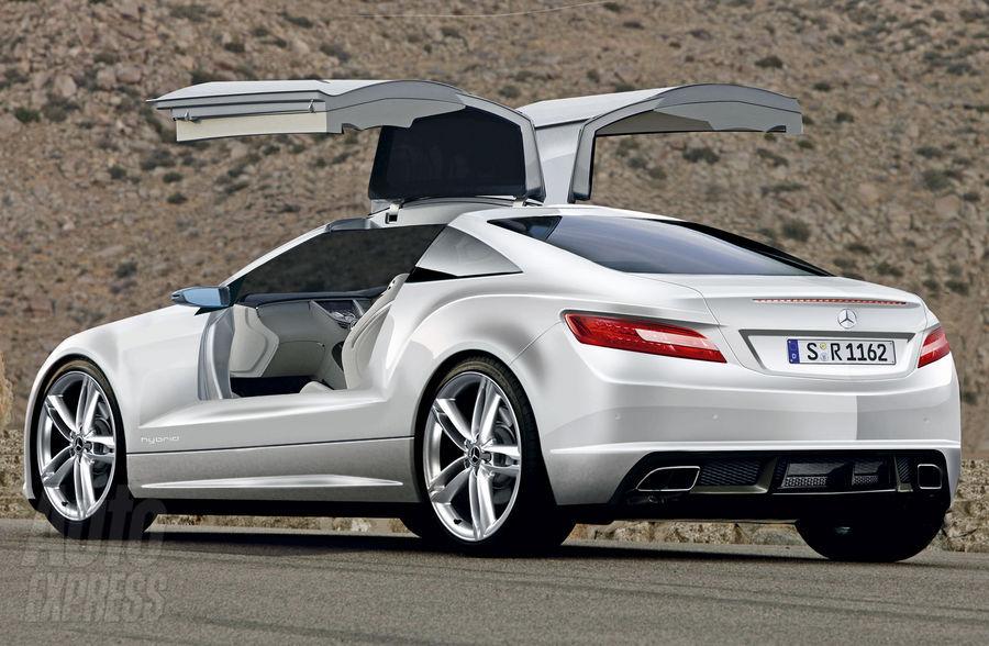 Super Fast Cars Mercedes Slk Gullwing