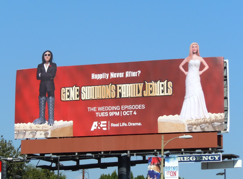 Family Jewels wedding episodes billboard