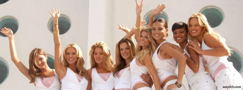 Victorias Secrets models