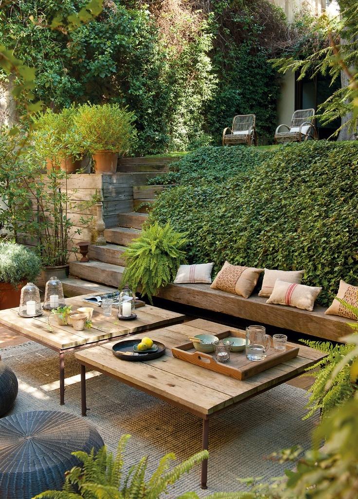 Decorando y renovando jardines y terrazas con encanto for Jardines en terrazas